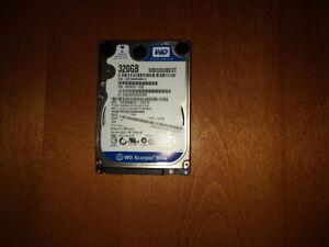 Disque dur 2.5 pouces Western Digital 320 GB