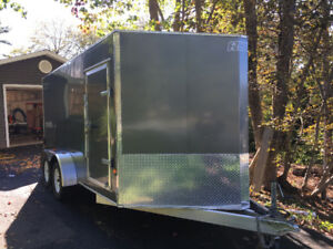 2015 EZ Hauler 7'x14' Enclosed Trailer