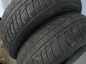 "P225/70R16 ""All-weather"" (winters you can use year-round) pair!"