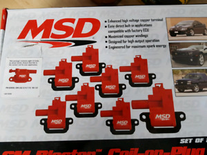 MSD COIL PACKS & Spark Plug Wires Chevrolet Truck 2005-2013