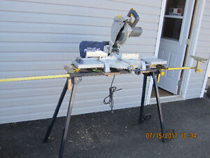 Miter saw and stand