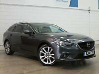 2014 MAZDA 6 2.2d Sport Nav Sat Nav Leather Bluetooth