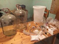 Brewing starter kit for beer and wine