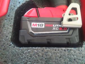 Milwaukee 5.0 battery