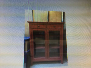 Ikea Hemnes displayed cabinet in great condition