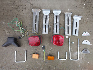assorted boat trailer parts, make me an offer