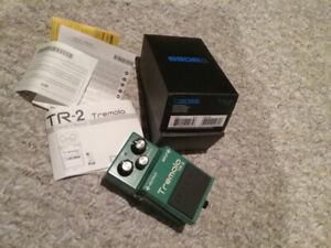 Boss TR-2 Tremelo pedal , as new condition