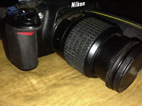 Nikon D3100 Digital SLR Camera and 18-55mm AF lens