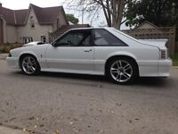 1990 Mustang Cobra GT 25 anniversary car for sale