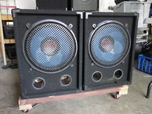 """Pair (2) 15"""" Passive Subs Speaker rated at 800 Watts"""