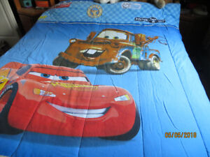 CARS-comforter, sheets, pillow case