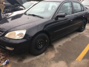 2003 Acura EL Touring Snow Tires Certified Warranty Only 150K KM