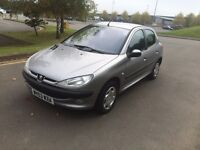 CHEAP PEUGEOT 206 1.4 HDI LOW MILEAGE 12 MONTHS MOT 30£ TAX
