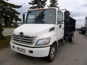 Hino Bin Truck with On-trux system & 12' Dump Body