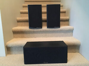 Quality Wharfedale (set of 2) & one Nuance Center Speaker