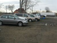 Outdoor Parking for Cars, RV's, Boats, Trailers & Campers