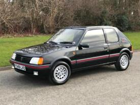 1989 Peugeot 205 1.6 GTi Manual 3 Door Hatchback 45,000 miles