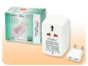 Transformador universal de corriente de 220 a 110v y de - Transformador 220 a 110 ...