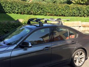 Barres de toit et support à vélo BMW