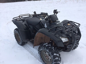 2008 HONDA 420 FOURTRAX ES (PLOW AVAILABLE)....FINANCING