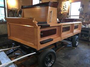 Draft Horse Show Wagon