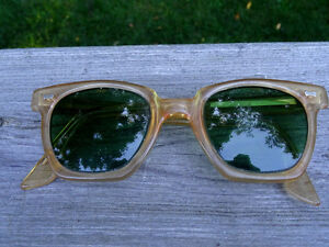nerd 1950s-60s PARMELEE uk SAFETY GLASSES industrial STEAMPUNK Cambridge Kitchener Area image 8