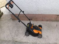 Worx cordless lawnmower