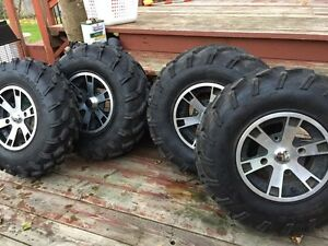 Can am 800 outlander tires and rims