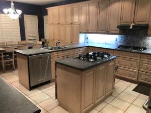 Custom Wood Kitchen for Sale