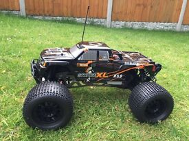 SOLD HPI Savage XL 5.9, Integy, carbon brakes, pro line wheels & tyres, loads of mods