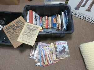 HUGE COLLECTION OF US CIVIL WAR BOOKS PLUS ALL SELLING TOGETHER,