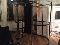 Full size Photobooth for sale with equipment