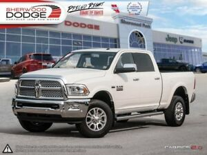 2016 Ram 2500 Laramie  6.4L HEMI | HEATED 1ST/2ND ROW LEATHER