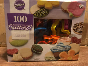 Brand New Never Opened – 100 Wilton Cookie Cutters