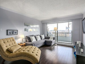 Lovely 1 Bed, 1 Bath Condo in New West with GREAT VIEWS!