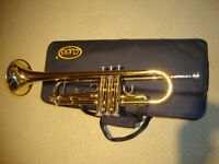 Almost brand new trumpet