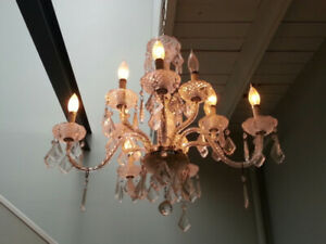 Crystal chandelier for Sale