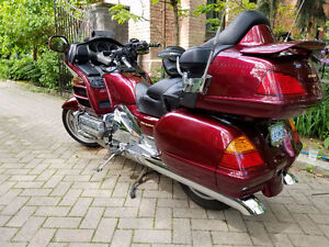 Excellent 2004 loaded, low km Gold Wing motorcycle for sale