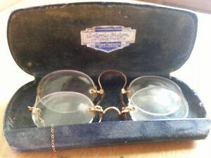 Lunettes Vintage ou anciennes