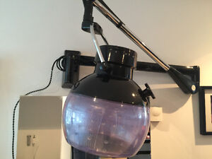 Belvedere Silencia salon wall mount Professional hood dryer