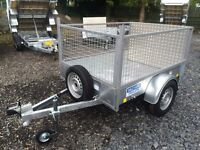 Car trailer Dale Kane single axle fully welded