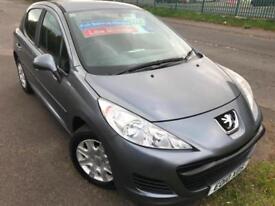 PEUGEOT 207 1.4 S 34K MILES £20 WEEK NO DEPOSIT GREAT 1ST CAR CDMP3 A/C 5DR 2010