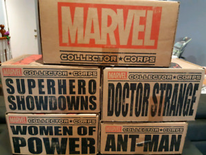 Marvel Collector Corps Boxes