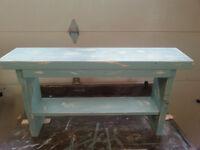 prairie bench