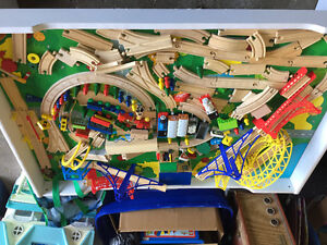 Thomas and Friends Trains and TrainTable Loaded with Accessories