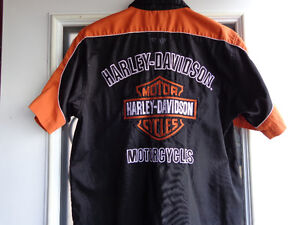 Harley Davidson Shirts in Med.   recycledgear.ca