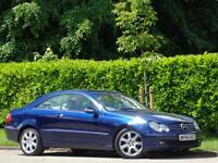 2004 MERCEDES-BENZ CLK 270 2.7 CDI ELEGANCE COUPE *AUTOMATIC* * ONLY 1 OWNER+