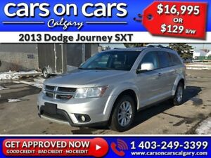 2013 Dodge Journey SXT w/BlueTooth, USB Connect, Satellite Radio