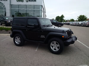 2011 Jeep Wrangler Sport 4x4 with 3 piece hardtop, clean! London Ontario image 7