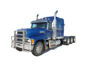 NO ENGINE  2013 MACK TRI DRIVE  or will buy your used MP8